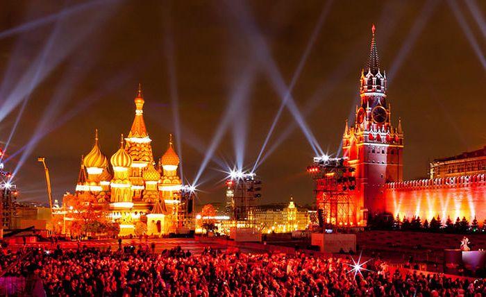 Зимние праздники во Москве