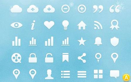 Бесплатные векторные иконки для сайта