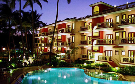 Красивая гостиница для путешественников