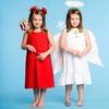 Чертенок и ангелочек